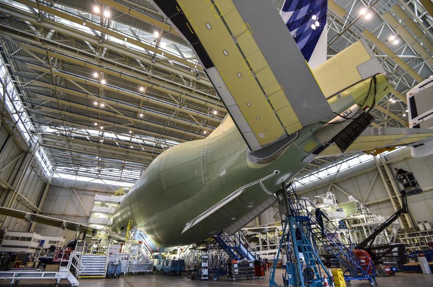 FRANCE-ECONOMY-INDUSTRY-TRANSPORT-AVIATION-AIRBUS-BELUGA XL