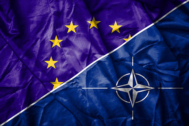 EU and NATO flag